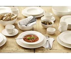 Jamie Oliver Waves vajilla Set / 12 pedazo / 3 diferentes platos / simplemente hermosa / Suprema loza fina / adición de clase y personalidad a su mesa de cena