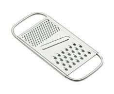 Lacor 60301 - Rallador plano, 3 usos, inoxidable