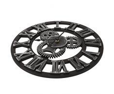 Soledi Reloj de Pared Engranaje Hueca Estilo Mecánico 40cm