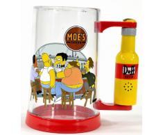 United Labels 0804199 - Jarra de cerveza con diseño de los Simpson (al apretar un botón se oye la voz de Homer en inglés)