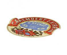 DRH Classic plato para queso Camembert asas en relieve