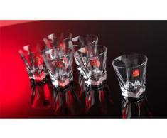 RCR Crystal - Vaso para whisky (6 unidades, 20 cl)
