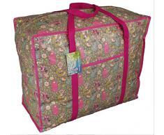 Bolsa de almacenamiento de gran tamaño para el lavado, almacenamiento de juguete, bolsa de lavandería. Animales del bosque modelo
