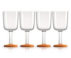 Palm 15393 Marc Newson - Vaso de whisky (300 ml, 4 unidades)