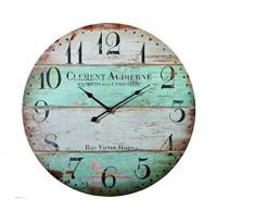 Reloj de pared XXL Vintage Rue Victor Hugo 58 cm