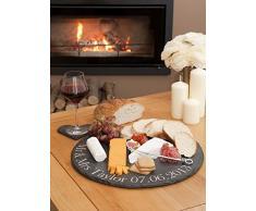 Plato de queso y tamaño de la tabla de: 45 cm