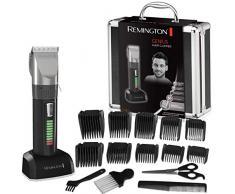 Remington HC5810 Pro Advanced Ceramic - Cortapelos (Indicador LED, 40 min de autonomía, incluye 10 peines)