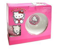 Hello Kitty - Set de desayuno de porcelana, color rosa (United Labels 811285)