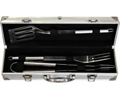 El Fuego AY0331 - Juego de cubertería (3 piezas, incluye caja de aluminio)