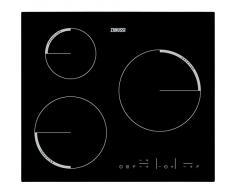 Zanussi ZEL6633FBA Mesa Inducción Negro hobs - Placa (Mesa, Induction hob, Negro, Sensor, Arriba a la derecha, 50/60 Hz)