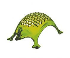 Koziol KASIMIR - Rallador de plástico, para Queso, Chocolate, Limones, Color Verde Oliva