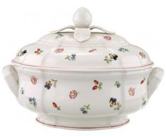 Villeroy & Boch Petite Fleur Sopera Ovalada de 2.5 L, Porcelana, Multicolor, 35x30x30 cm