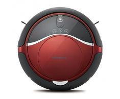 Moneual Me770 Style - Robot aspirador híbrido, color rojo vino