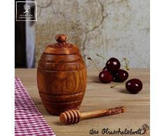 Tarro para Miel con cuchara ( set) - 12cm