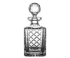 Cryst aljulia 7765 Whisky Jarra plomo, handgeschliffen, Patrón De Cuadros con el grabado, 0,75 l