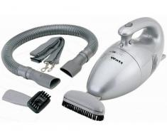 Clatronic HS 2631 Aspirador de mano, tamaño compacto, 700 W, 0.8 litros, 36 Decibelios, De plástico, Plateado