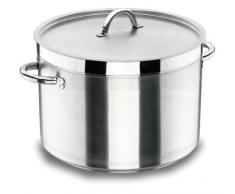 Lacor Chef Luxe 54139 - Olla baja con tapa de 40 cm, inoxidable