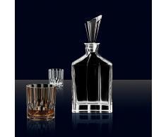 Spiegelau & Nachtmann Aspen 0090024 – 0 3 piezas, decantador whisky y vasos