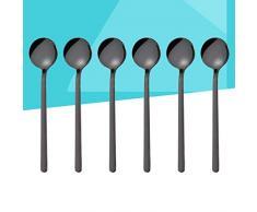 4Sp Funnyrunstore 10 Piezas de pl/ástico Negro cucharas de medir Tazas Juego de Herramientas para Hornear caf/é t/é 1 1 2Tbsp 2Sp-1Tsp-1 1Tbsp