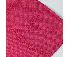 Esprit Maison DAilleurs - 3009226, Mantel Individual, 30 X 45 Cm, Feuille, Fibra Papel, Rosa