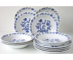 Creatable 11688 - Vajilla elegante, color azul