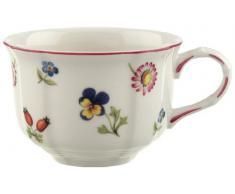 Villeroy & Boch Petite Fleur - Taza de café o té con diseño de flores, 0,20 l, color blanco