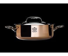 De Buyer 6241.28 - Olla de cobre con tapadera