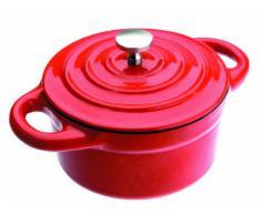IBILI 725910R - Mini Cocotte Redonda Roja 10X4,50 Cm
