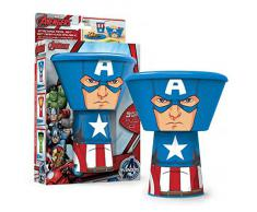 Set desayuno Capitan America Marvel apilable