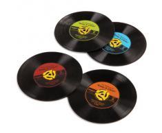 Gama-Go - Juego de posavasos, diseño de vinilos, multicolor