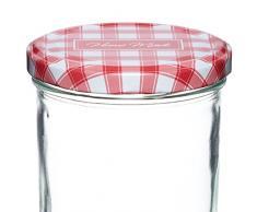 Kitchen Craft - Bote para conservas con tapa a rosca (440 ml)