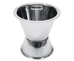 Fackelmann 49822 - Vaso medidor de acero inoxidable, 20-40 ml