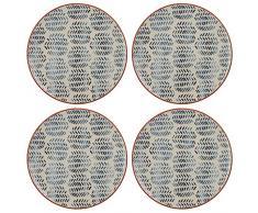 Creative Tops Drift Platos laterales de cerámica decorados a mano