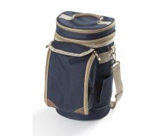 Greenfield Collection Contour - Bolso térmico con Vasos, Color Azul Marino