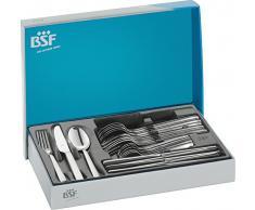 BSF 02208-308-0 Cult - Cubertería de acero mate (30 piezas)