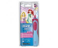 Oral-B Stages Power Kids - Cepillo de dientes eléctrico, diseño Princesas Disney