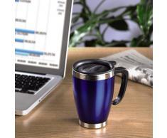 Xavax Office - Taza/vaso (8,8 cm, 12,6 cm) Azul