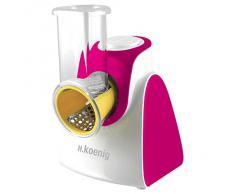 H.Koenig FRSH500 - Rallador eléctrico, color rosa