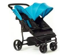 Baby Monsters Silla De Paseo Gemelar Easy Twin Azul Baby Monsters 0m+