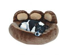 Trixie 37401 Donatello perro cama 60 × 50 cm marrón/beige