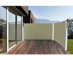 Toldo Lateral (Toldo Lateral Protector Solar 160 x 600 cm Antracita)