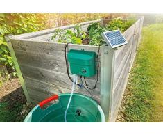 Sistema de riego solar WaterDrops, juego completo para riego de plantas con 15 aspersores Esotec 101100