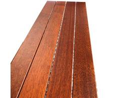 Balcón Suelo - 900X300X30MM piña enrejado del piso impermeable Fácil de instalar bricolaje piso decorativo for Patio y Terraza (Color : 1PCS)