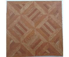 50 autoadhesivo adehsive azulejo de suelo de vinilo, efecto de madera