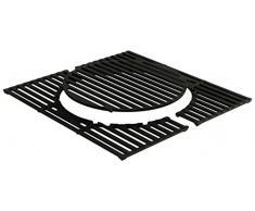 Enders 7805 Switch Grid nuevo, parrilla de fundido para BBQ Parrilla de gas Monroe 2 S Turbo Barbacoa/Grill, Negro, 48 x 47 x 1 cm