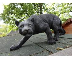 Design Toscano by Blagdon KY71174 - Figura decorativa (resina), diseño de pantera negra