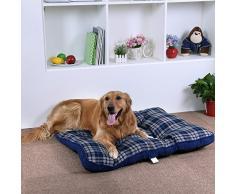 Songmics XXL Cómodo Cama para perros Perrera Gato Del Perro De Perrito Sofa House Bed 100 x 80 cm PGW53B