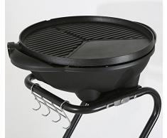 RGV Grill Barbecue Eléctrico - Barbacoa (Carro, Negro, Verde, Alrededor)