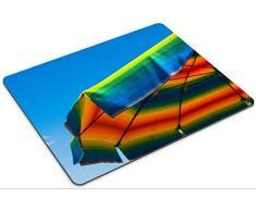 liili Mouse Pad de goma natural mousepad imagen ID: 23021711 Sombrilla Playa Colored como un Rainbow