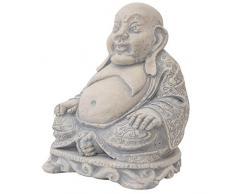 Escultura Buddha Buda Figura Estatua Piedra Artificial Estilo Antiguo jardín